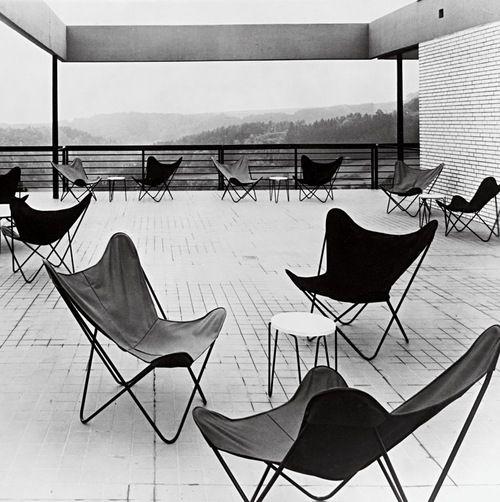 Butterfly Chair Designed By Juan Kurchan Antonio Bonet And Jorge Ferrari Hardoy
