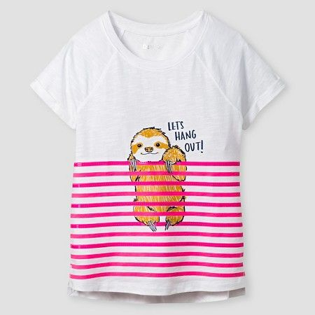 Girls' Graphic Tee Cat & Jack™ - Cute Animal : Target