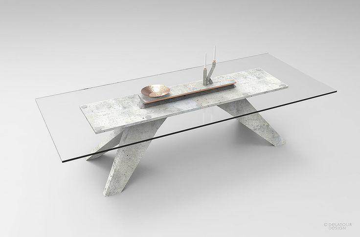 PRODUCT OF THE DAY: CONCRETE TABLE by Delatour Design Lab
