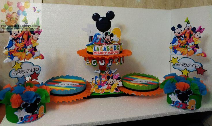 Decoraciones infantiles la casa de mickey mouse for Decoraciones d casa