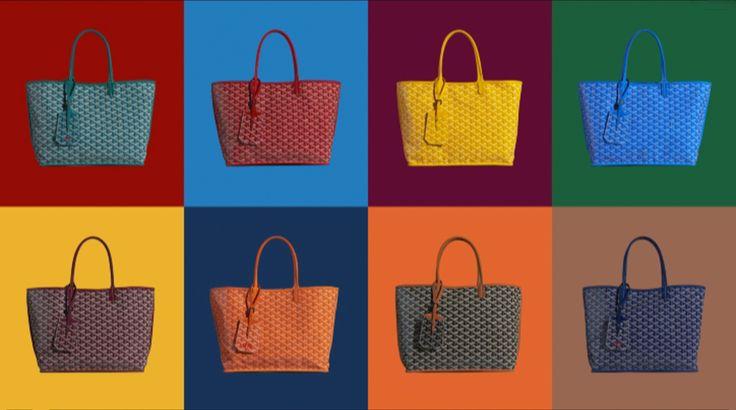 Goyard Anjou Reversible Tote Bags