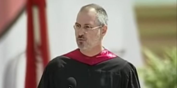 Here's the full text of Steve Jobs' famous Stanford commencement speech