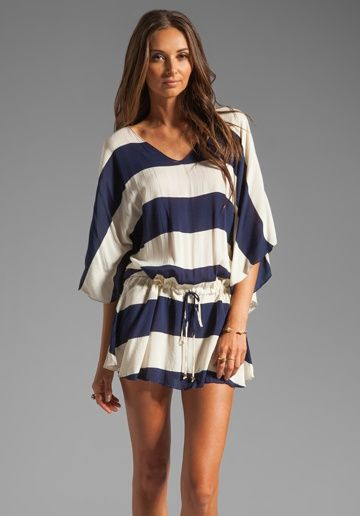 Nautical striped tunic