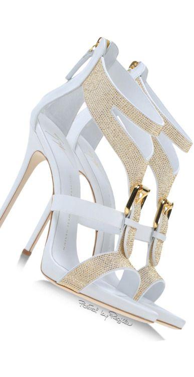 Giuseppe Zanotti White Sandals  | Shoes CH  Had2B@100% MO