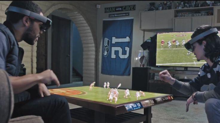Vídeo mostra como será assistir a esportes com holografia