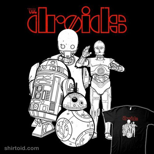 The Droids #bb8 #boggsnicolas #c3po #droid #droids #film #k2so #movie #music #r2d2 #rogueone #scifi #starwars #thedoors