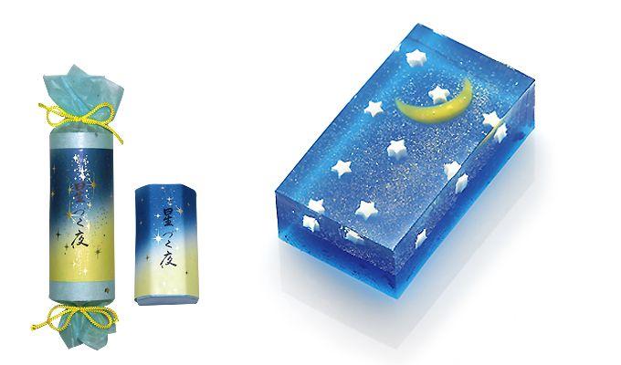 亀谷清永 星づく夜 a Japanese cake for the Star Festival (Tanabata)
