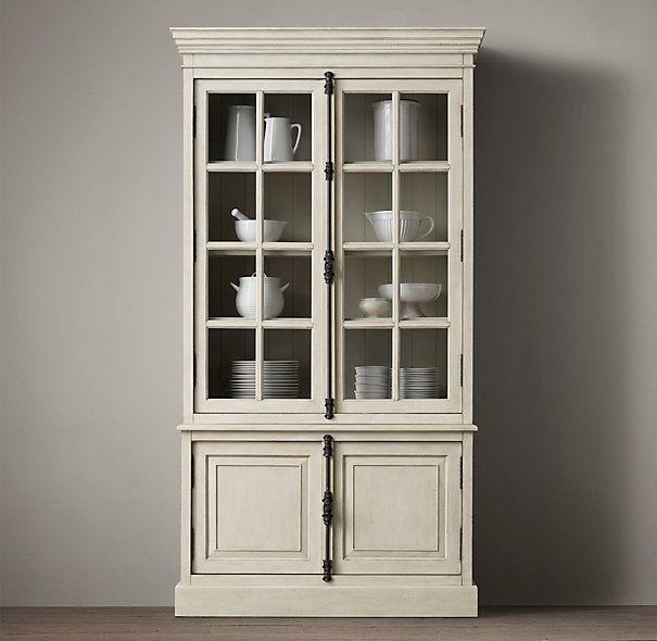 9 best images about hutch restoration on pinterest - Restoration hardware cabinets ...