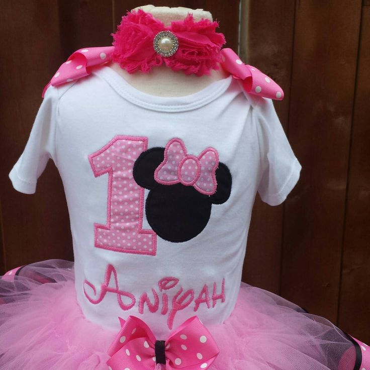 Mini mouse shirt by AMcutetutuboutique on Etsy (null)