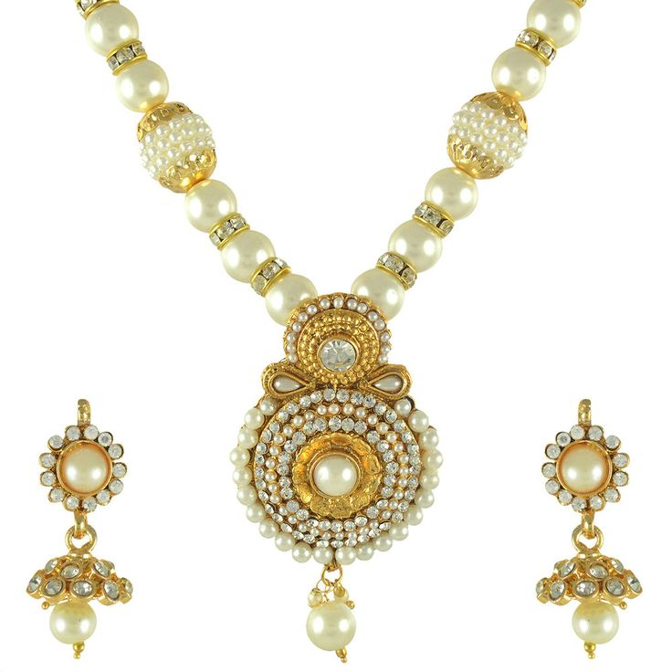 Amazing design, adorned with glowing pearls on a golden back drop. Wear it with your best ethnic outfits. Care Instructions: Keep it dust-free & dirt free in a plastic pouch.