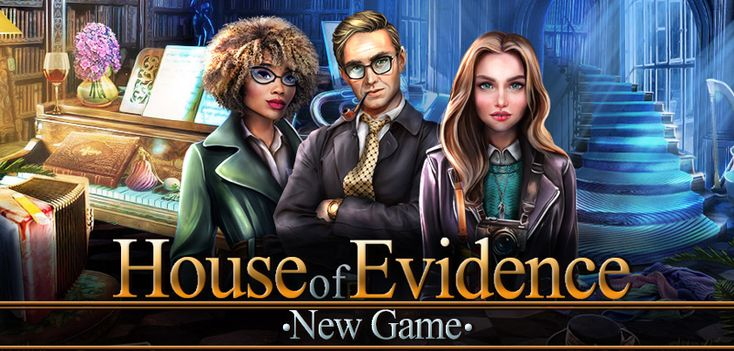 NEW FREE GAME just released! #hiddenobject #freegame #html5game #hiddenobjects Play 'House of Evidence'