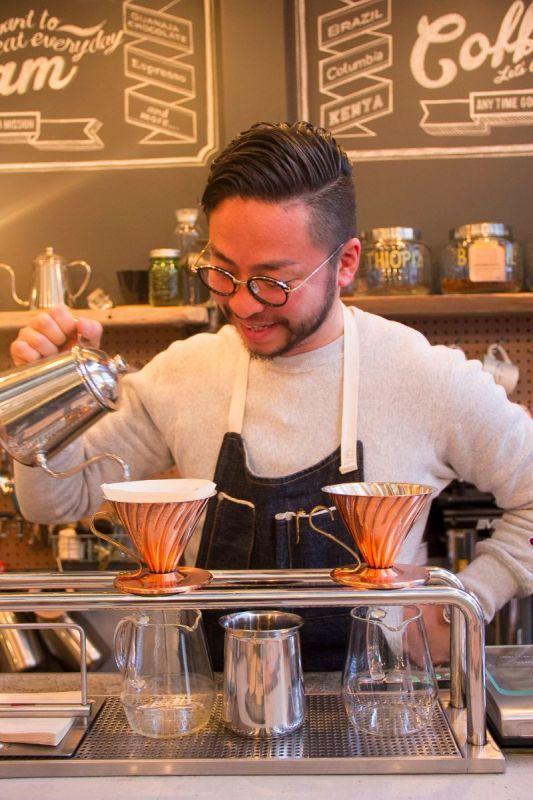 下町情緒あふれる日本橋の、クラシックなコーヒースタンド『mighty step coffee stop』でコーヒーの淹れ方を教わってきました Vol.10