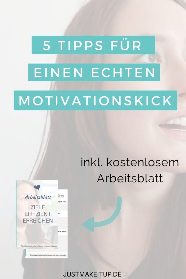 Du bist auf der Suche nach einem echten Motivationskick? Dann lade ...