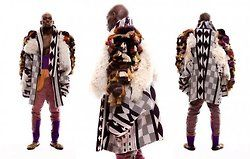 inspiration of the day.. by fashion designer Buki Akib