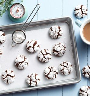 Check out this delicious recipe for Hot Chocolate Crinkles from 25 Merry Days at Kroger!