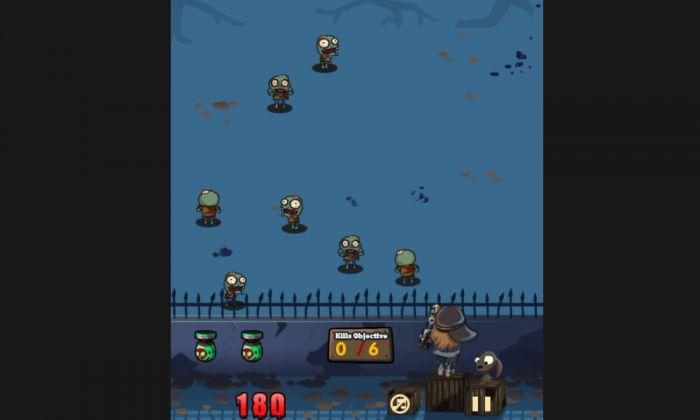 Мозги! Толпа зомби нападает на вас в этой бесплатной онлайн игры действий для вашего смартфона ! Апокалипсис здесь и мозг едят вид людей значительно выросла . Эта новая онлайн с мобильного бесплатная игра будет дребезжать ваши нервы !  Источник: http://games-topic.com/110-zombie-apocalypse.html