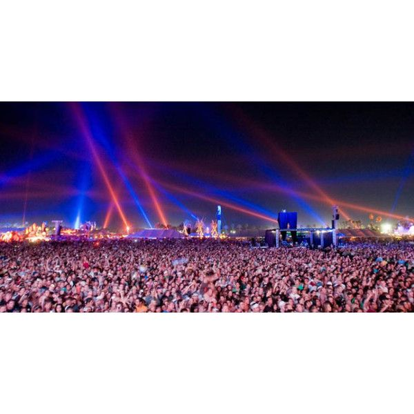 Official Coachella 2014 Lineup OutKast, Skrillex, Bonobo, Glitch Mob... ❤ liked on Polyvore featuring pictures