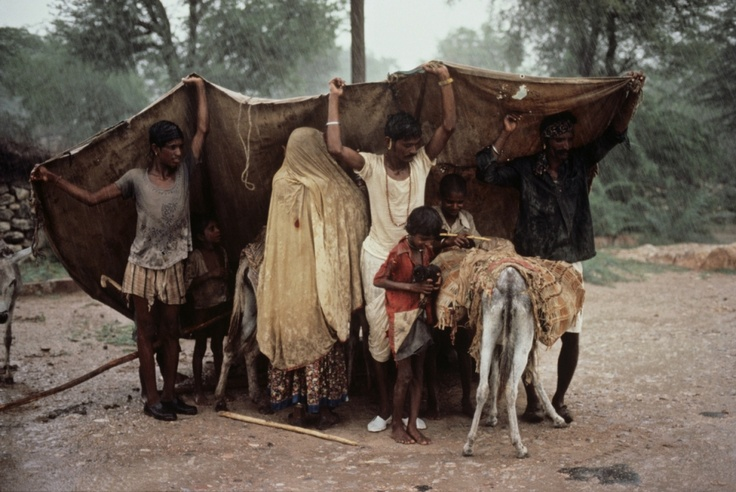 Gipsy Family, India, by Steve McCurry.