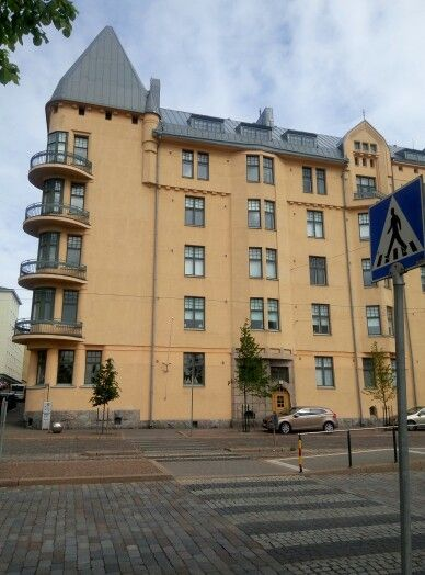 A beautiful building but don't remember in which part of Helsinki