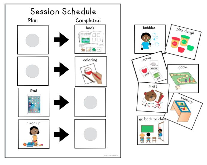 In my profession, it is well known that using visual schedules with students on the Autism Spectrum is beneficial and I have seen them work wonders with my stu