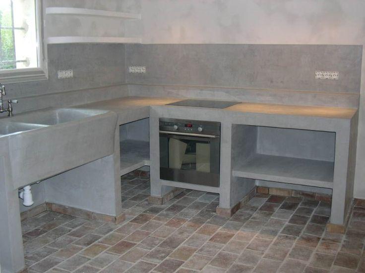1000 id es sur le th me b ton poli sur pinterest sol en for Entretien beton cire cuisine