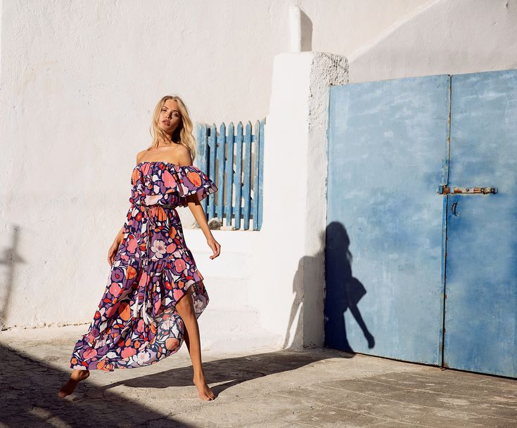 Mister Zimi | Passionflower Lucy Dress