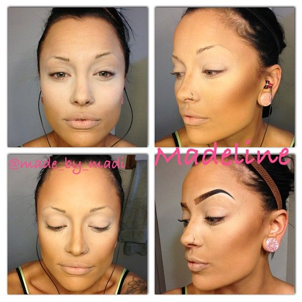 85 best Make-Up Highlight and Contouring images on Pinterest