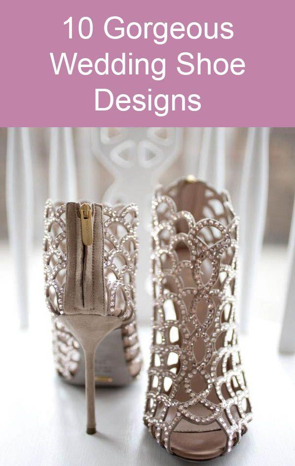 10 Gorgeous Wedding Shoe Designs