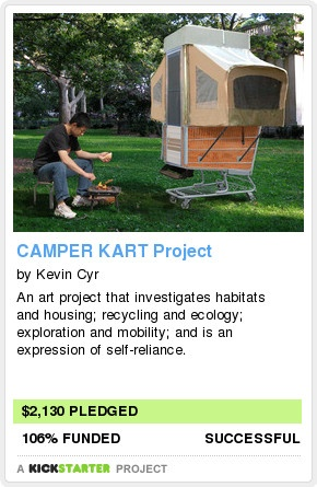 Camper Kart Project - How cool is this!