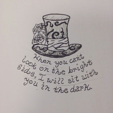 The best Alice In Wonderland quote, that rings true in the here and now, from the heart.