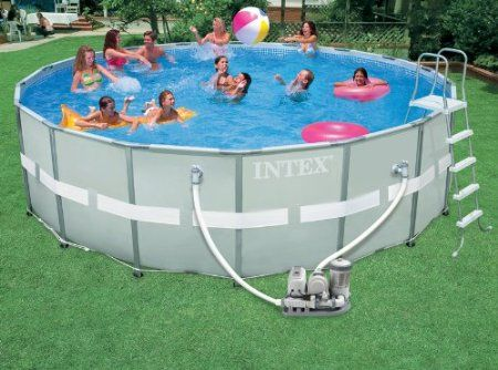 intex pool review intex 18 x 52 ultra frame pool home garden pinterest pools and frames
