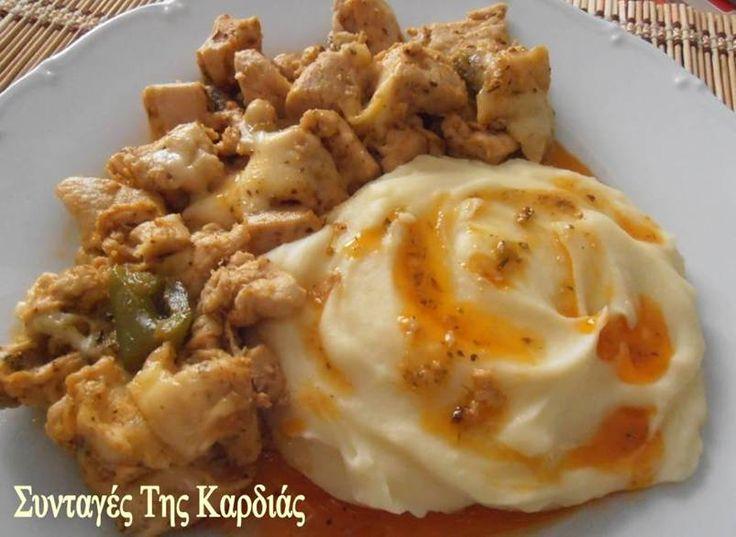 ΣΥΝΤΑΓΕΣ ΤΗΣ ΚΑΡΔΙΑΣ: Τηγανιά κοτόπουλου
