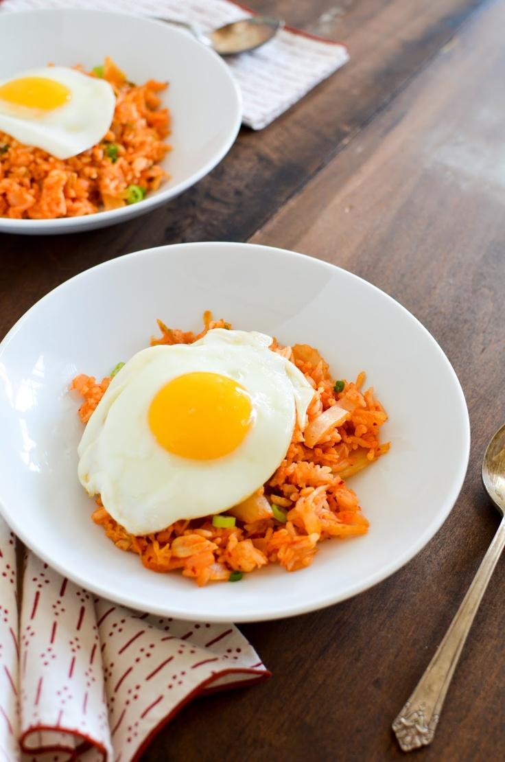 Apricosa: Kimchi Fried Rice (김치 볶음밥)