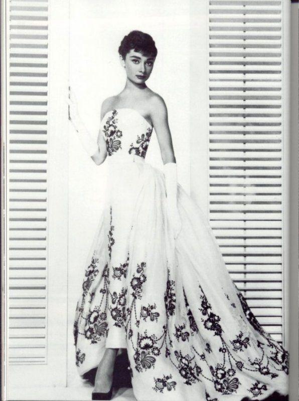 Classically beautiful Audrey Hepburn