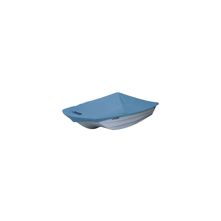 Pelican Boats Modified v-hull boat cover - 10', Blue