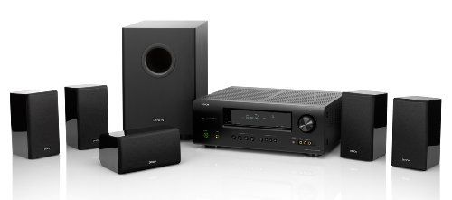 Denon DHT-1312XP A/V Home Theater Receiver AVR1312 with SYS1312 Theater Speaker Package by Denon. $399.00. From the Manufacturer                The Denon DHT1312XP Home Theater System adds rich, immersive surround sound to your home entertainment center. This powerful system pairs an AVR-1312 receiver with five speakers and a subwoofer to create a cinematic, detailed soundstage. The receiver supports high-resolution audio formats--including Dolby TrueHD and DTS-HD--...