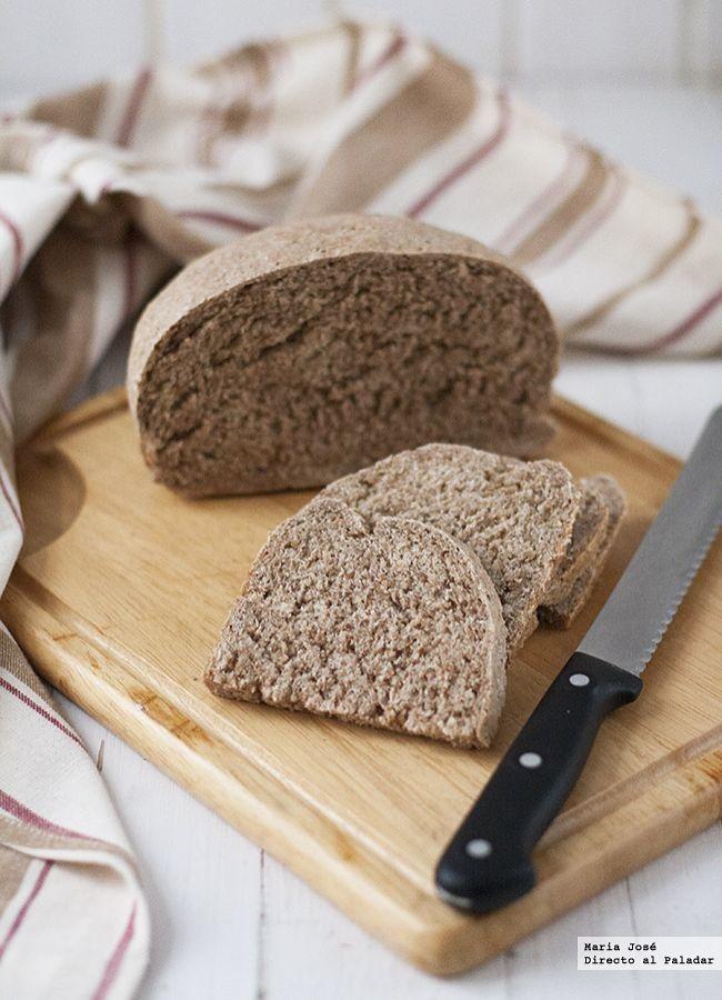 Receta de pan moreno mallorquín con Thermomix. Fotografías con el paso a paso del proceso de elaboración. Sugerencia de presentación. Consejos...