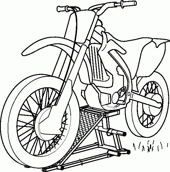 free motorcycle coloring page letscoloringpagescom motocross stencils pinterest dirt biking american girls and stenciling