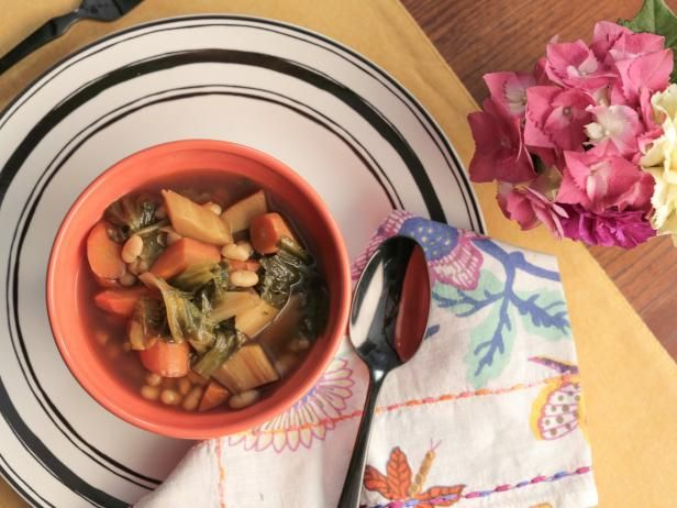 Get Roasted Vegetable Soup Recipe from Food Network Valerie Bertinelli Recipe