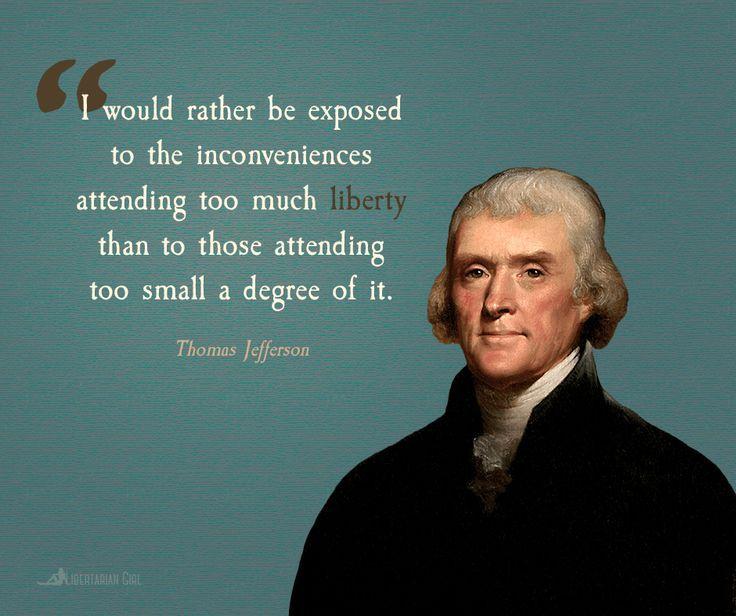 @LPNational Next Presidential Election,If U want me 2consider/promote ur candidate,run some1 on #Libertarian Platform;NOT #Progressive Lite [Jefferson On Liberty]
