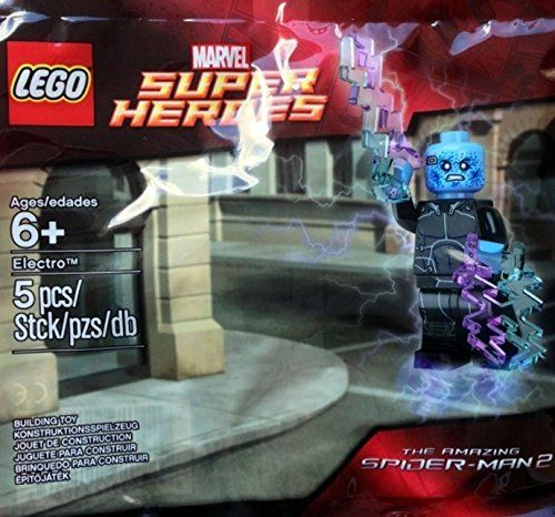 LEGO Marvel Super Heroes Electro The Amazing Spider-Man 2 (10 pack) @ niftywarehouse.com #NiftyWarehouse #Spiderman #Marvel #ComicBooks #TheAvengers #Avengers #Comics