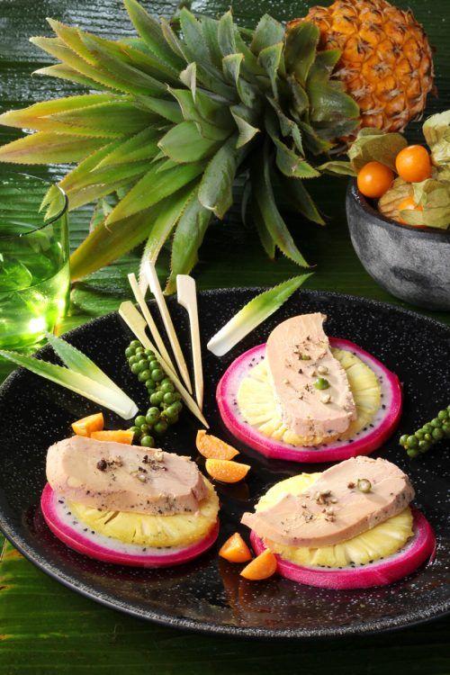 Les « Liaisons Savoureuses », Épisode 3 : Fruits des tropiques et Foie Gras  #foiegras