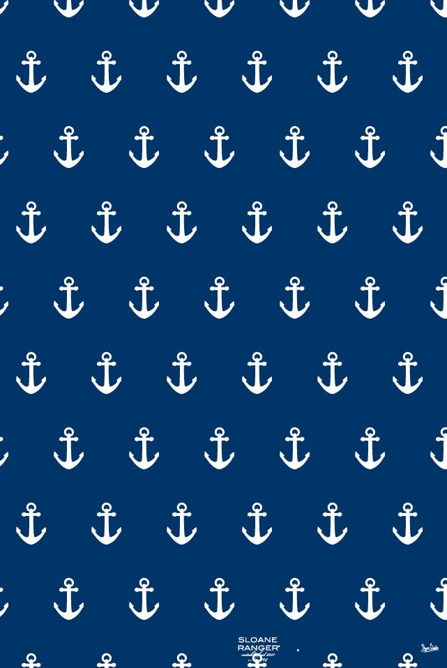 AST & DG sugar ~ free anchor iphone wallpaper from sloane ranger!