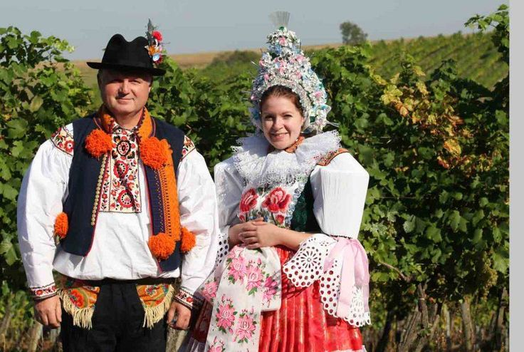 Blatnička - Slovácké costumes from South Moravia, Czech Republic