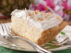Tropical Cream Cheese Pie | EverydayDiabeticRecipes.com