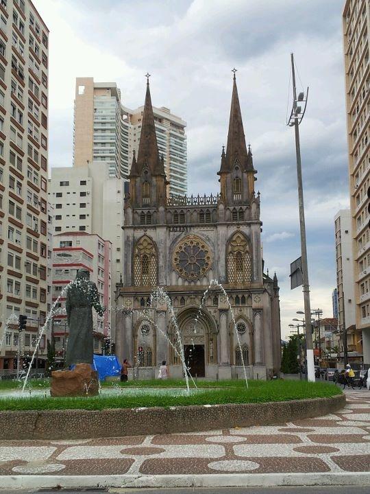 Igreja de Santo Antonio do Embaré, Santos, SP, Brazil