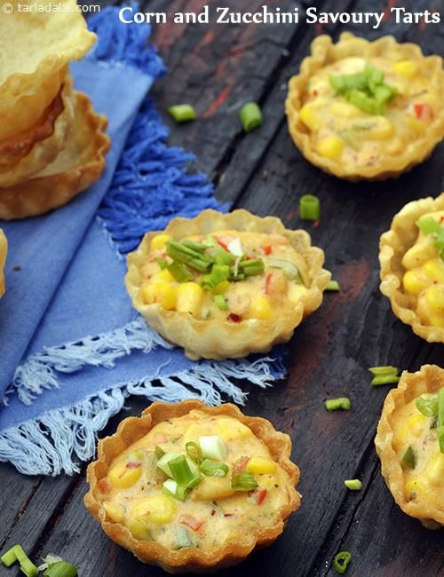 59 best starters images on pinterest indian snacks cooking food corn and zucchini savoury tarts forumfinder Images