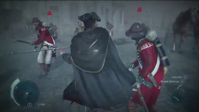 Assassin's creed 3 Haytham's fighting style HD