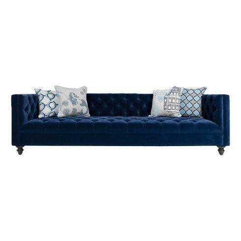 25 best ideas about Navy sofa on Pinterest