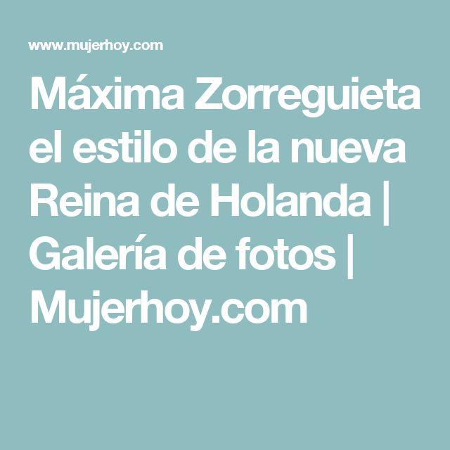 Máxima Zorreguieta el estilo de la nueva Reina de Holanda | Galería de fotos | Mujerhoy.com